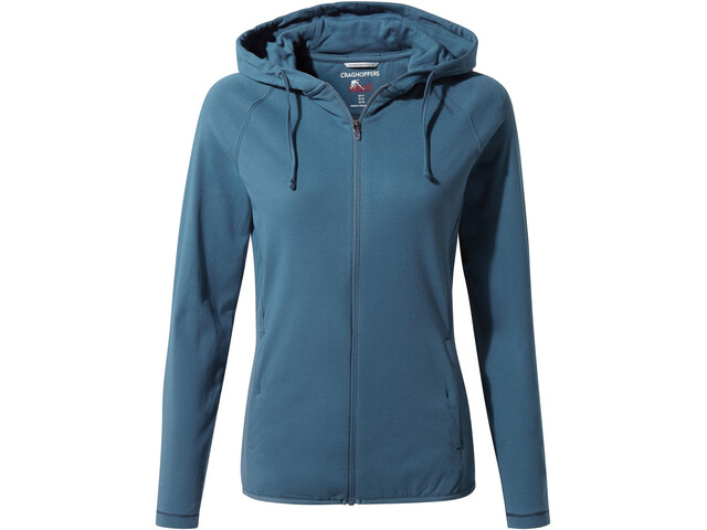 Craghoppers NosiLife Sydney Top con capucha Mujer, venetian teal